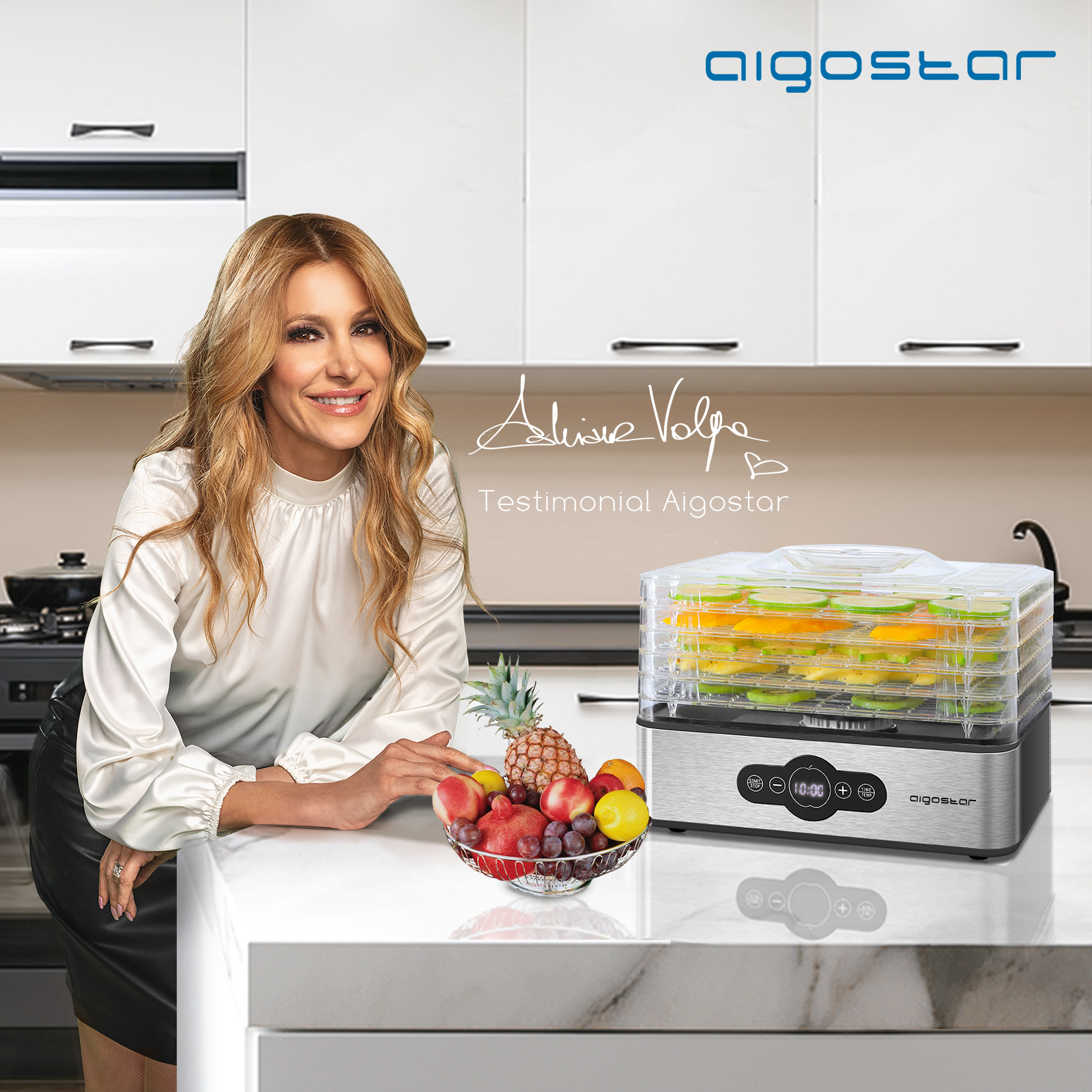 Aigostar Crispy - Essiccatore alimentare (207052)